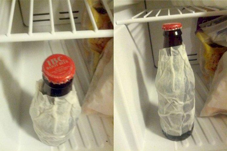 Greitai atšaldome gėrimą