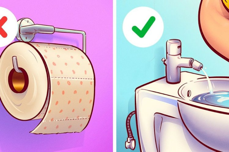 Bidė ar tualetinis popierius