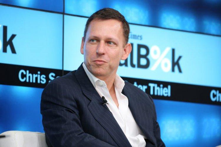 """Peterio Thielio įkūrėjo fondas yra investuotojas į didžiausią NFT rinką """"OpenSea""""."""